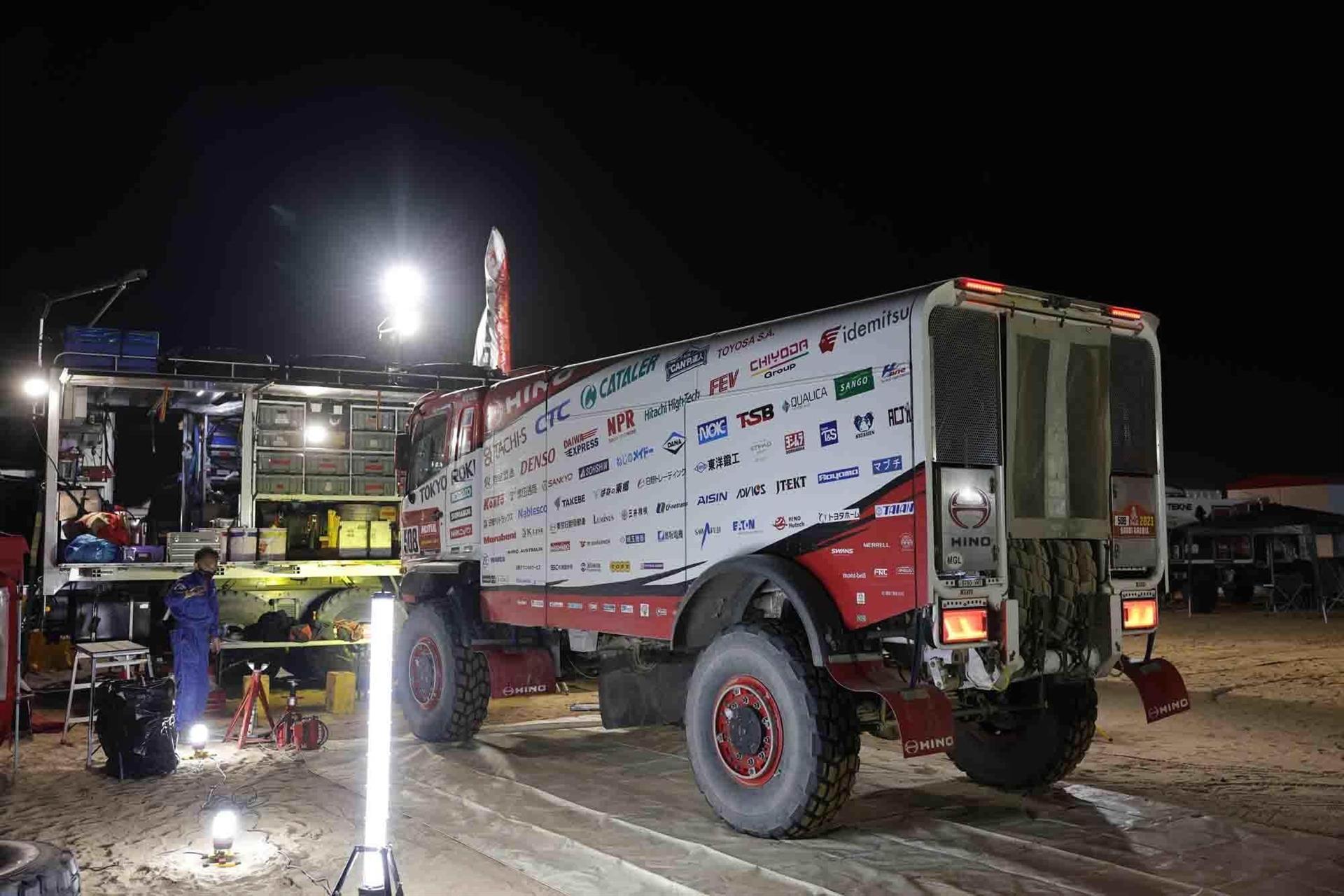 Dakar Rally Truck