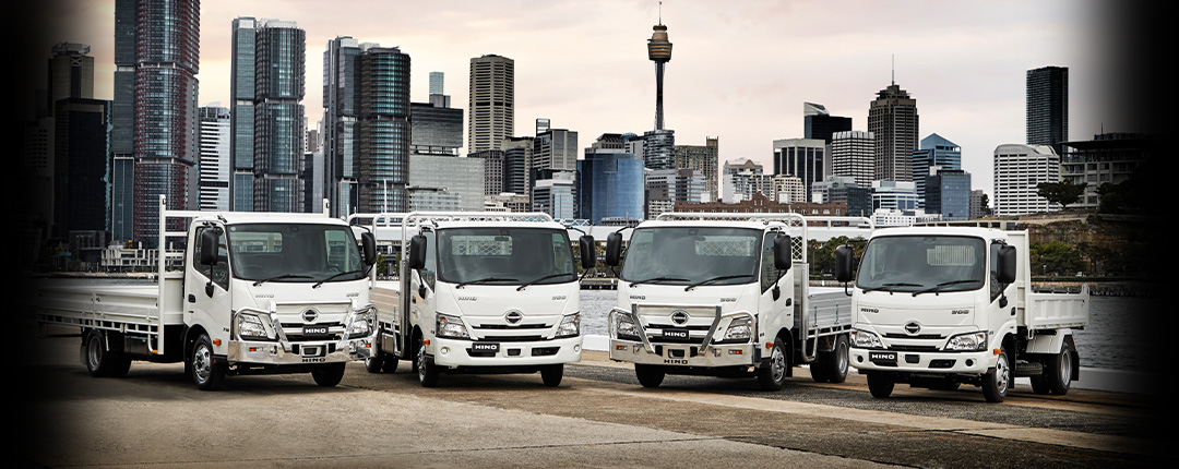 Hino 300 Built to Go
