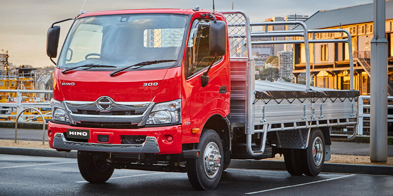 New Hino Trucks from Barry Maney Hino
