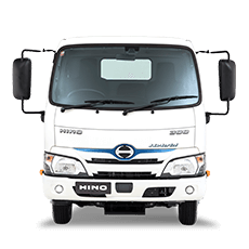 Hybrid truck from Newcastle Hino>