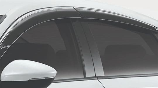 Door Visor Set