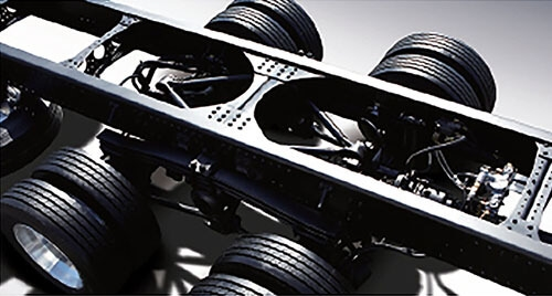 Powerful Diesel EngineFront frame & high-tensile chassis