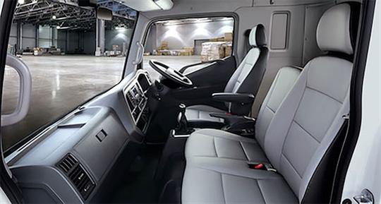 Hyundai Mighty Truck Interior
