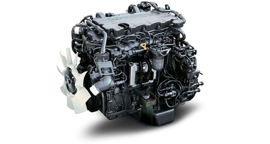 Powerful Diesel Engine