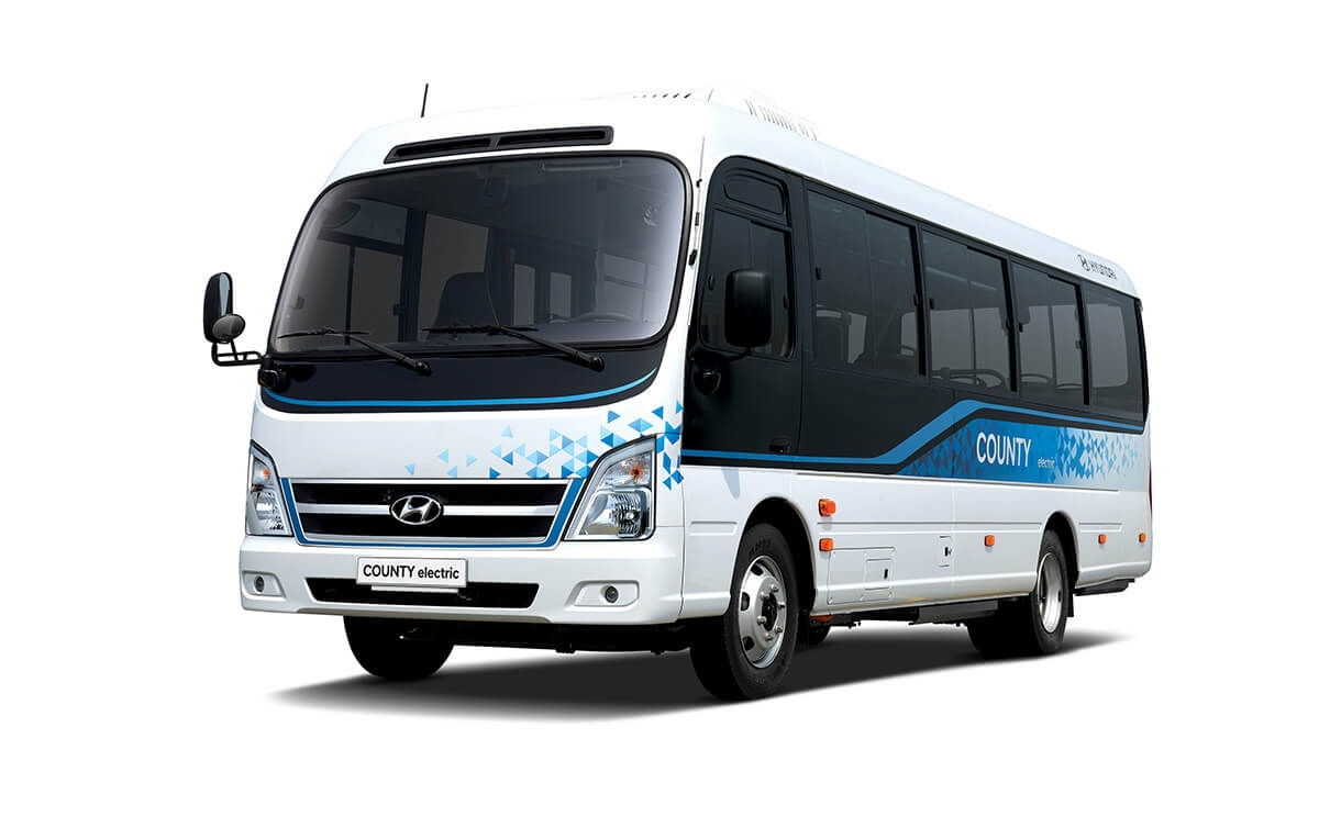 Hyundai's first electric minibus provides economical and eco-friendly transportation