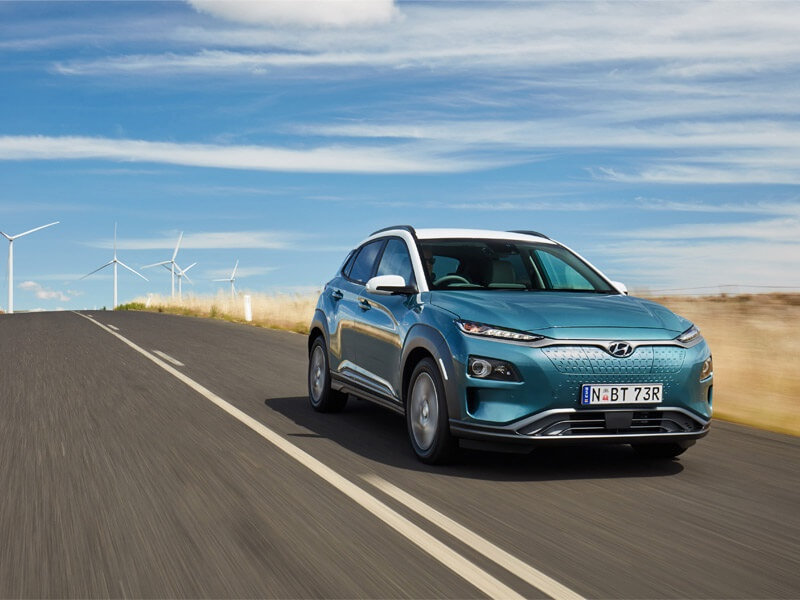 First Hyundai Kona Electric in     | News at Melbourne City