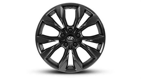 18 inch Osan Satin Black Alloy Wheel