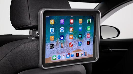 iPad® holder.