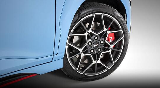 High performance brake package.