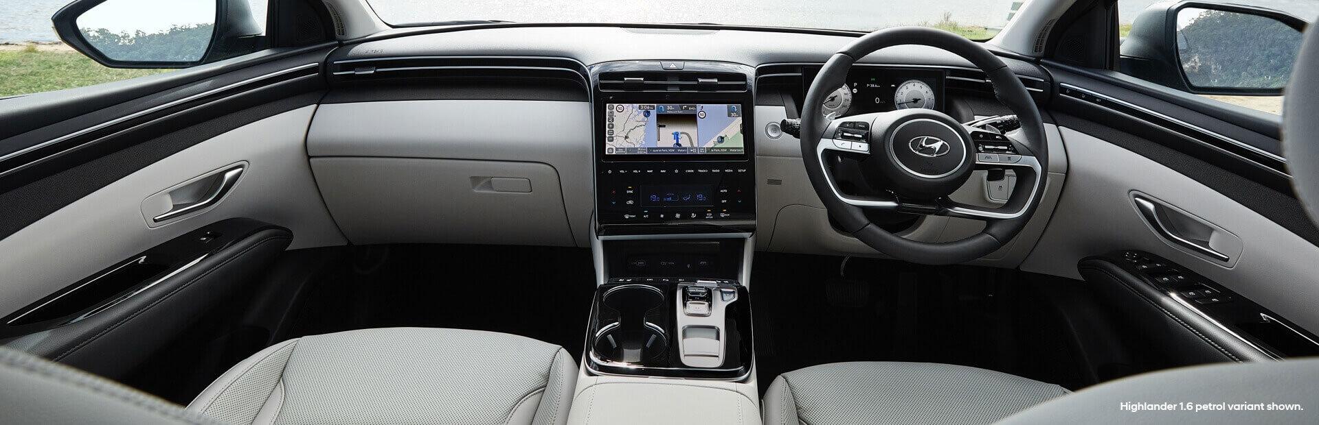 Hyundai Tuscon Interior Design