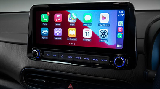 Apple CarPlay™ and Android™ Auto.