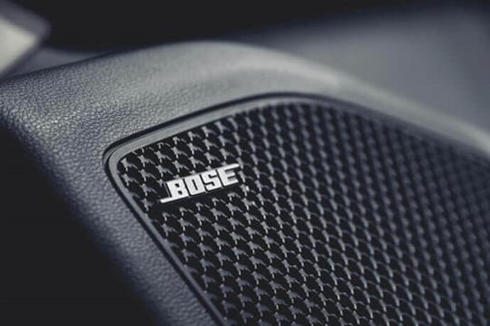 Bose® sound system.