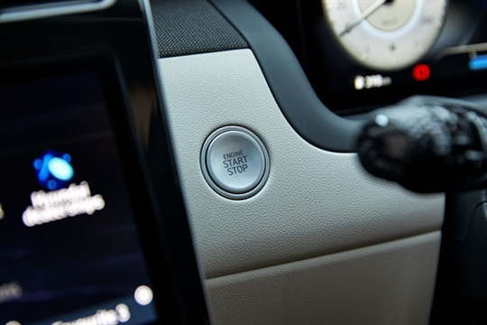 Smart key with push-button start.
