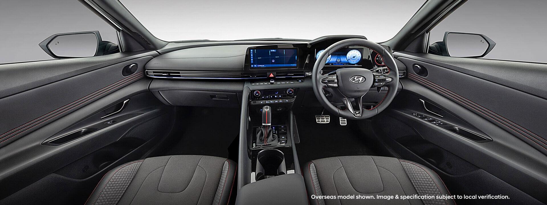 Hyundai i30 Sedan N-Line Interior