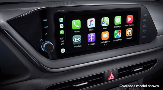 """10.25"""" touchscreen with Apple CarPlay™️ and Android™️ Auto."""