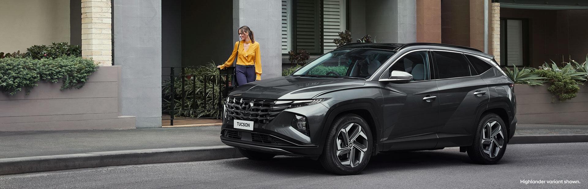 Hyundai Tuscon Exterior Design