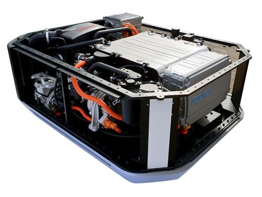 Hyundai Motor's fuel cell system