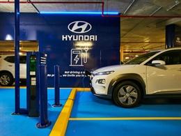 Hyundai EV charging station