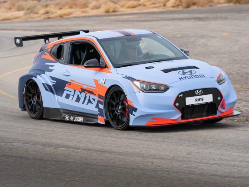 Hyundai N Brand Reveals All-New RM19 Racing Midship Sports Car Prototype.