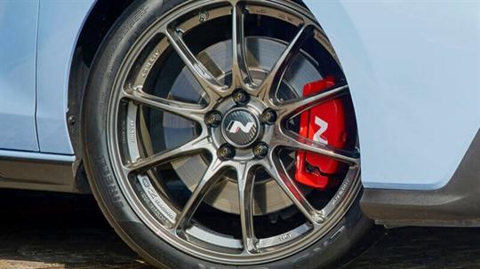 19 inch OZ lightweight alloy wheels set.