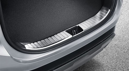 Chrome Trunk Sill Protector.