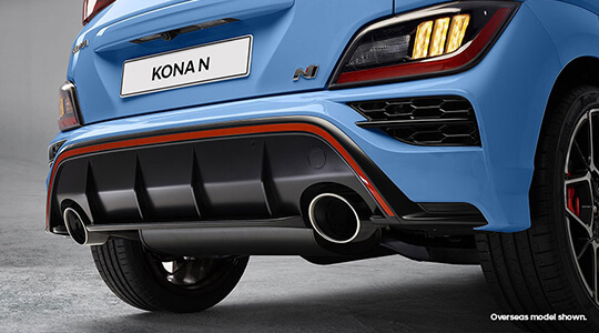 Sports exhaust.