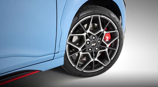 Performance brakes.