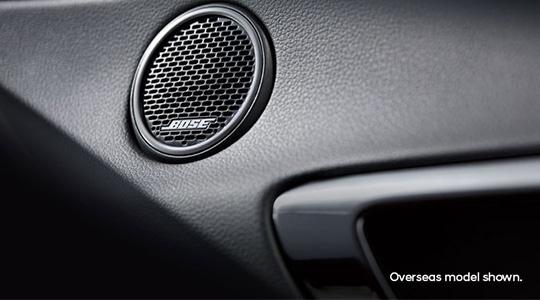 Bose® Premium Audio System.