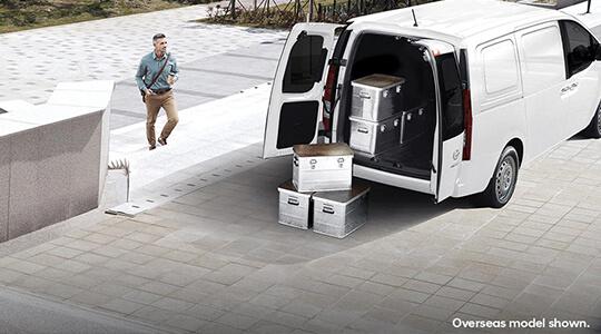 Optional Twin Swing rear doors.