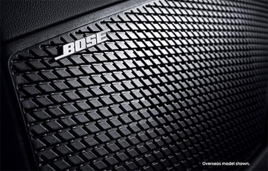 Eight Bose® premium speakers.