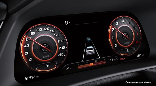 Four automated driving modes.