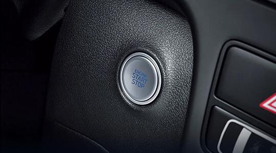 Smart key with push-button start