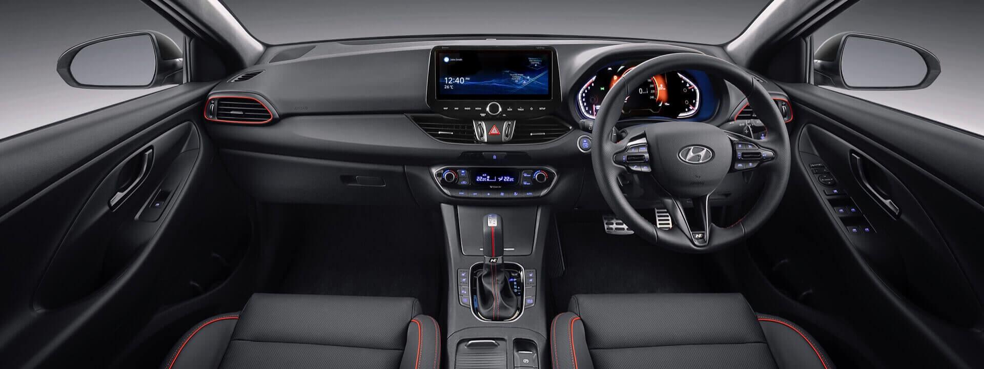 Hyundai i30 Hatch N Line Interior
