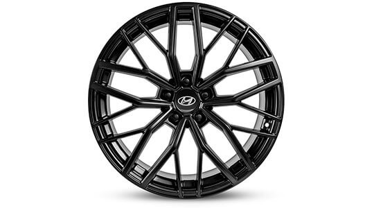 20 inch Busan Gloss black Alloy Wheel.