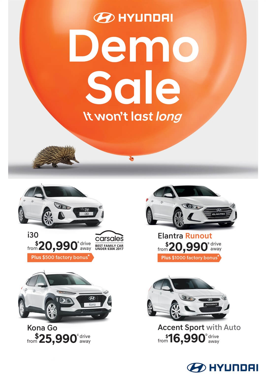 Demo Sale Now On At Wild West Hyundai