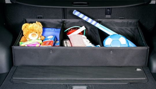 Luxury cargo organiser.
