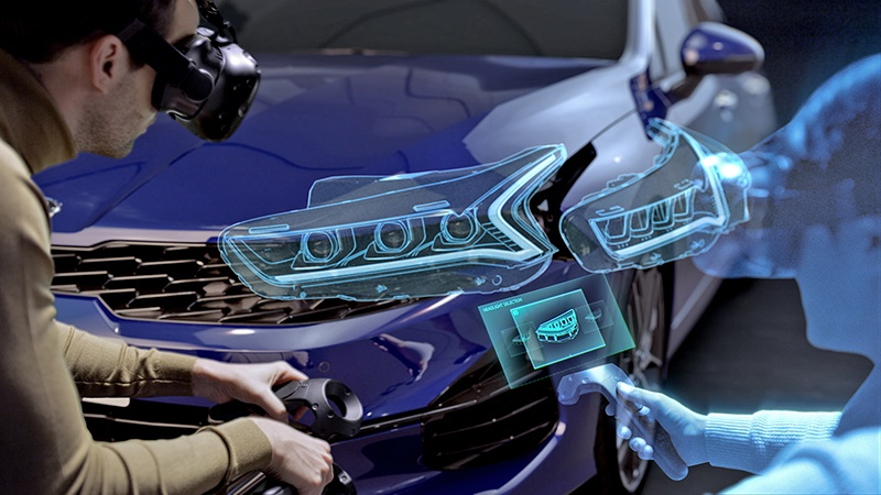 Hyundai and Kia's new VR design evaluation system