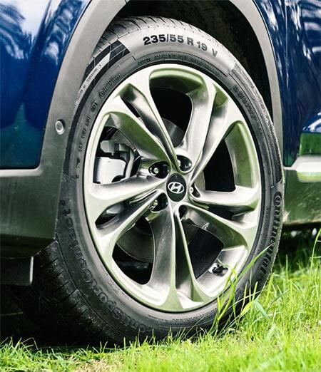 Hyundai Genuine Tyres.