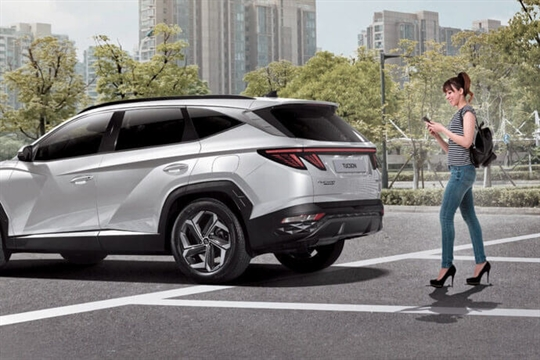 Parking Collision-Avoidance Assist – Rear (PCA-R).