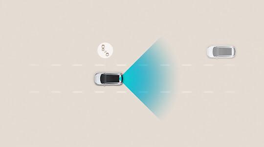 Blind-Spot Collision-Avoidance Assist (BCA).