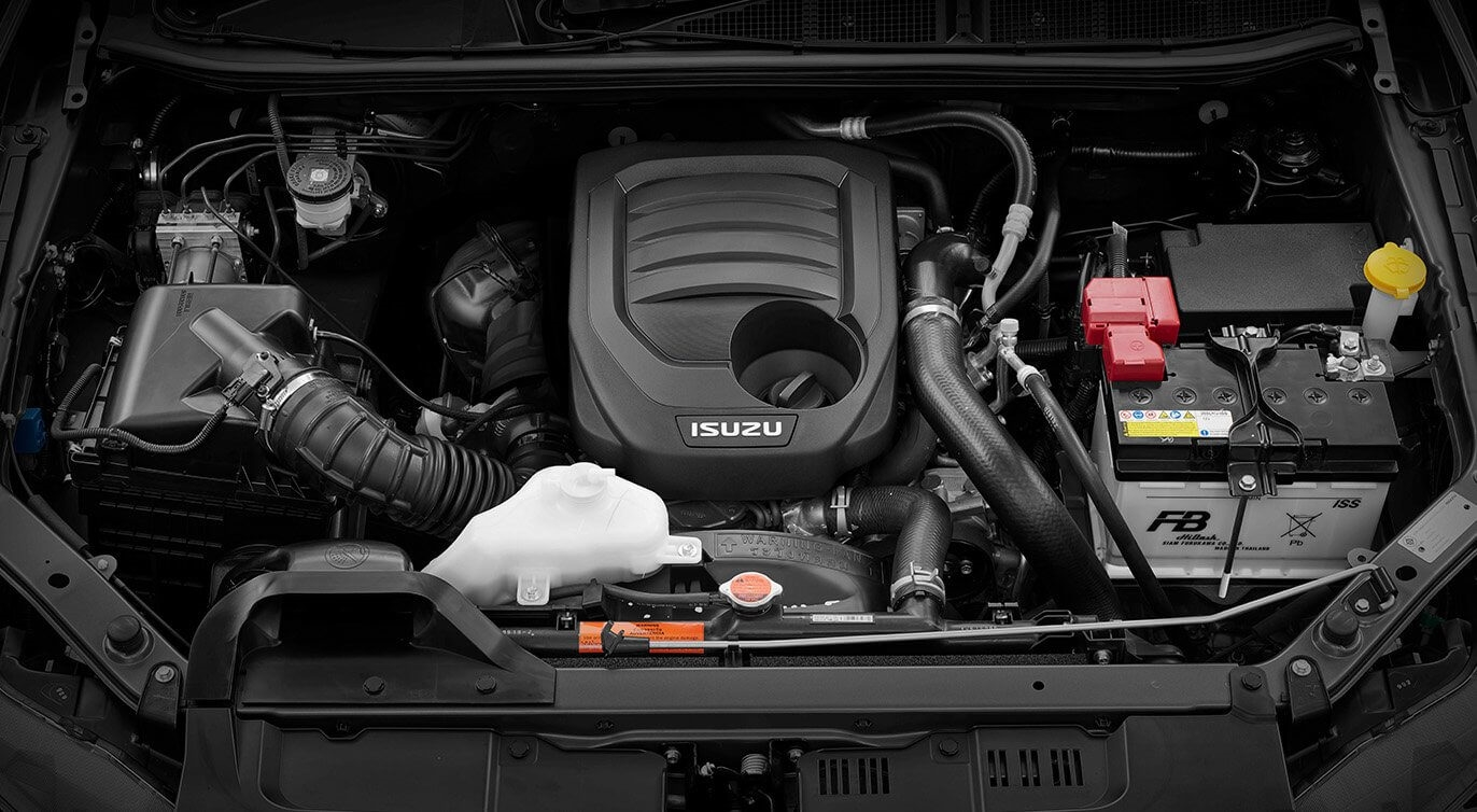 Introducing the RZ4E-TC 1.9-litre turbo-diesel engine into the entry-level SX Single Cab