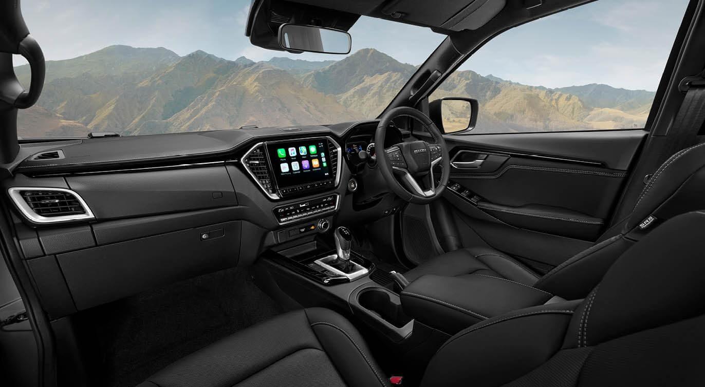 All-New D-MAX Interior
