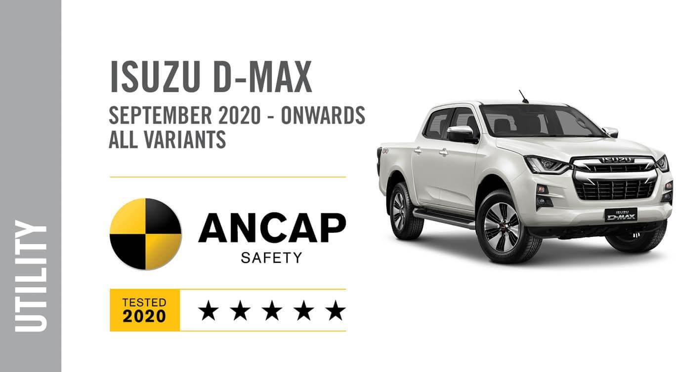 Isuzu D-MAX ANCAP Safety
