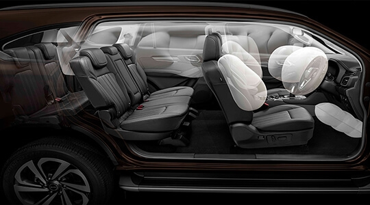 Eight Airbags