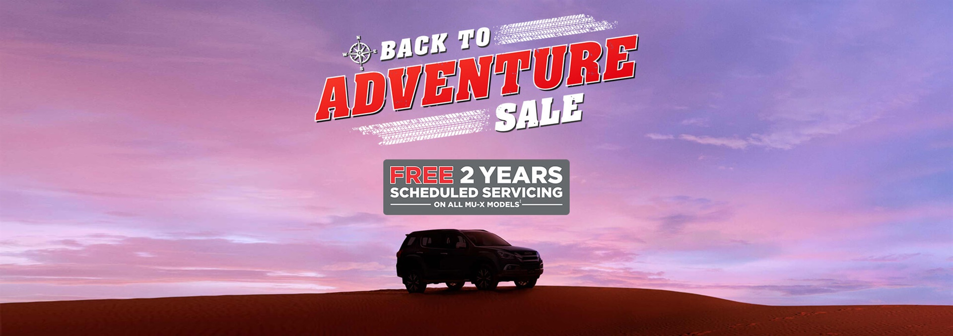Back To Adventure Sale