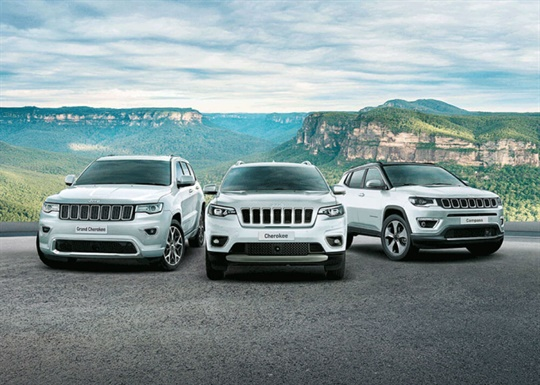 Jeep® Grand Cherokee Vehicle Offers
