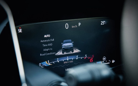 10.25 Inch Customisable Instrument Cluster