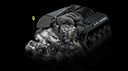 6.4L SRT® V8 ENGINE