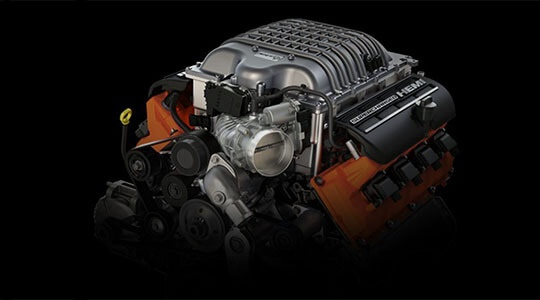 SUPERCHARGED 6.2L V8 ENGINE