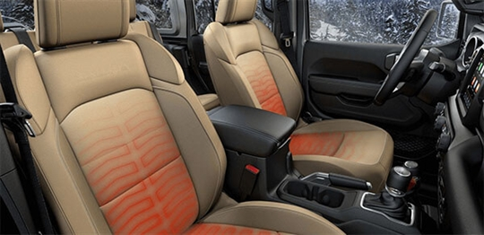 Heated Front Seats and Steering Wheel